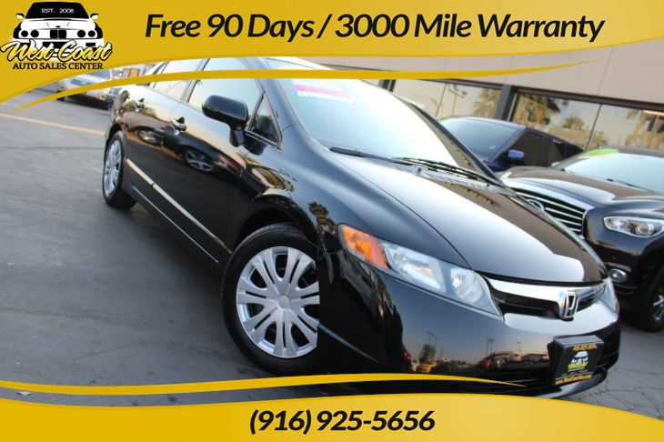 2008 Honda Civic Sedan LX | 5 Speed Manual, Gas Saver