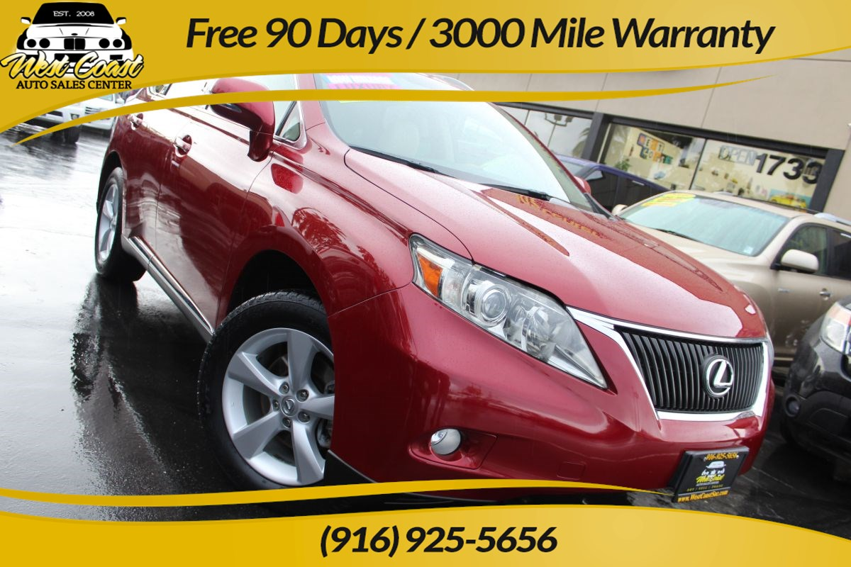 2012 Lexus RX 350 | Sunroof, Heated Seats, Extra Clean