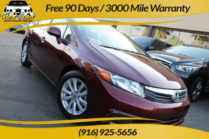 2012 Honda Civic Sedan EX | *One Owner*, Gas Saver