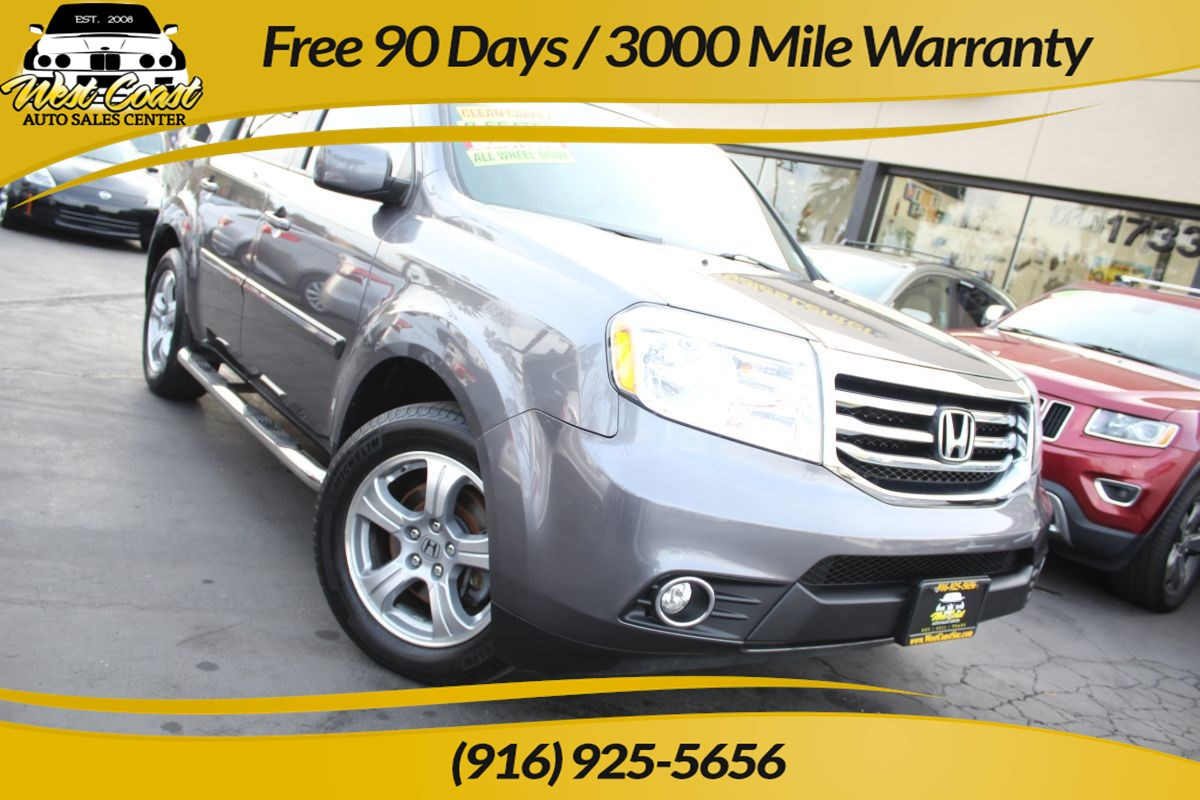 2014 Honda Pilot EX-L | 4WD, 3rd Row Seating, Extra Clean
