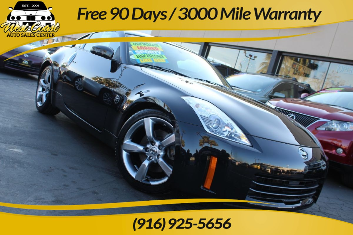 2008 Nissan 350Z Touring | Navigation, Extra Low Miles