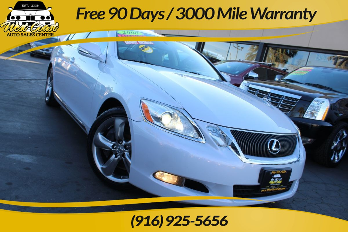 2008 Lexus GS 350 | Sunroof, Heated Seats, Navigation, Extra Clean