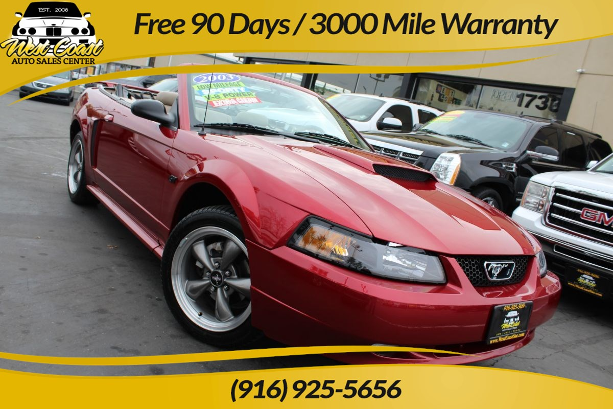 2003 Ford Mustang GT Convertible | Extra Low Miles