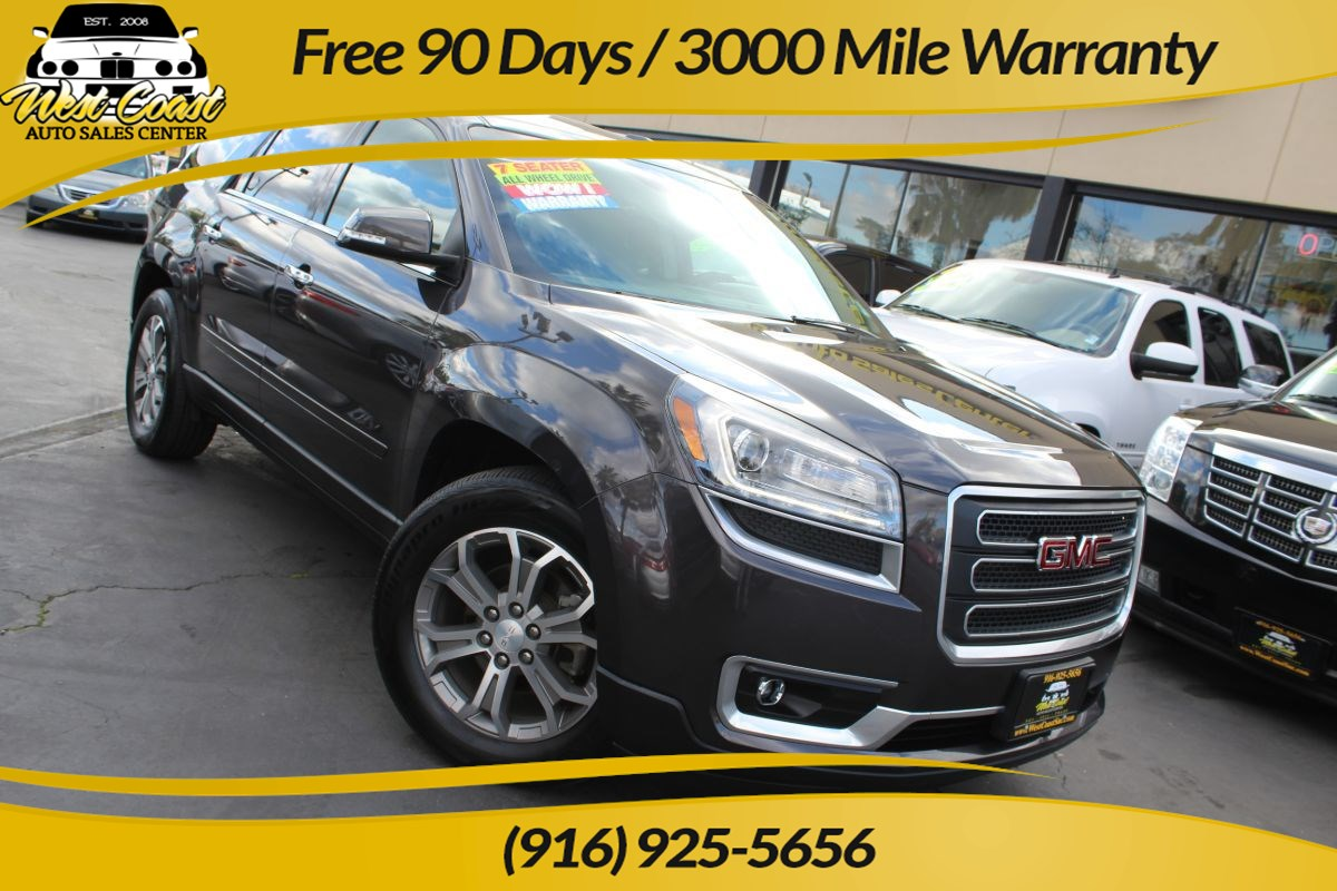 2015 GMC Acadia SLT | Panoramic Sunroof, Navigation, Rear-seat DVD