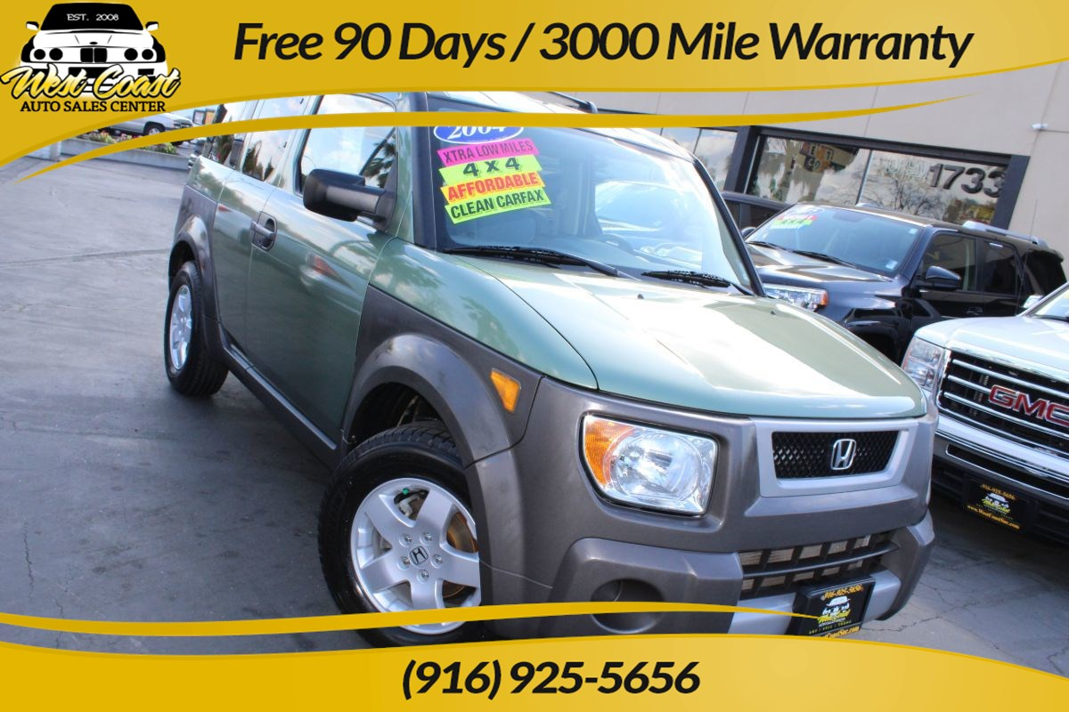 2004 Honda Element EX | 4WD, Extra Low Miles, Extra Clean