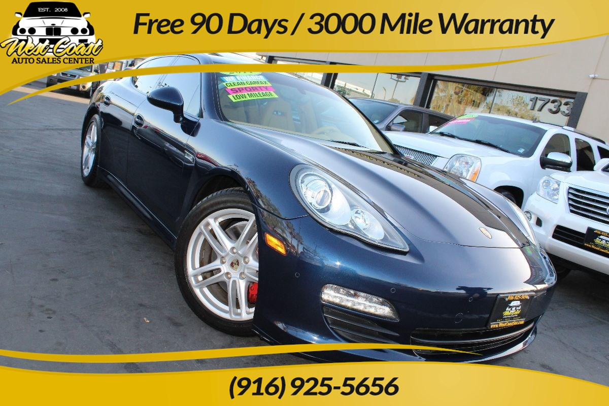 2011 Porsche Panamera | PCM w/Nav, Heated Seats, Extra Clean, Low Miles