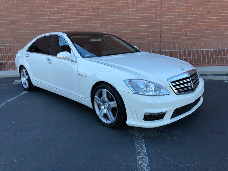 Sold 2007 Mercedes Benz S550 Sedan In Sacramento