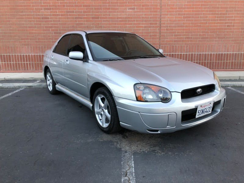 2005 Subaru Impreza Sedan (Natl) 2.5 RS