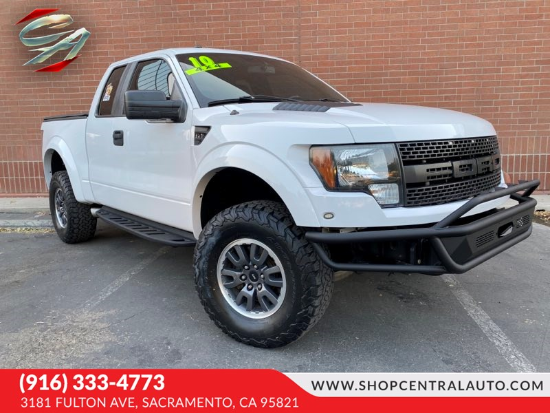 Used 2010 Ford F 150 Svt Raptor In Sacramento