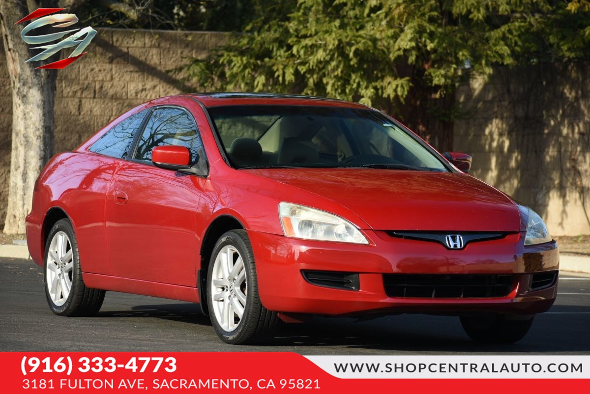 2004 Honda Accord Cpe EX V-6