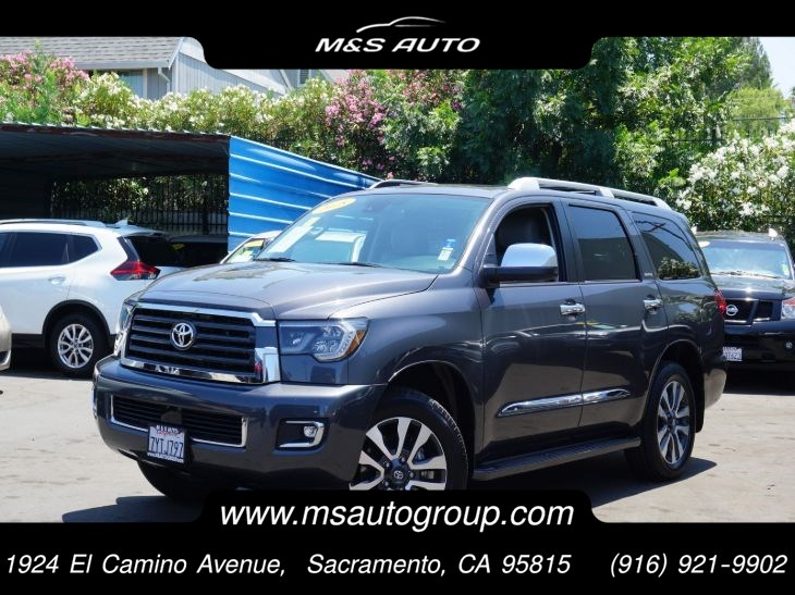 2018 Toyota Sequoia 4wd Limited 8-Pass 5.7L V8