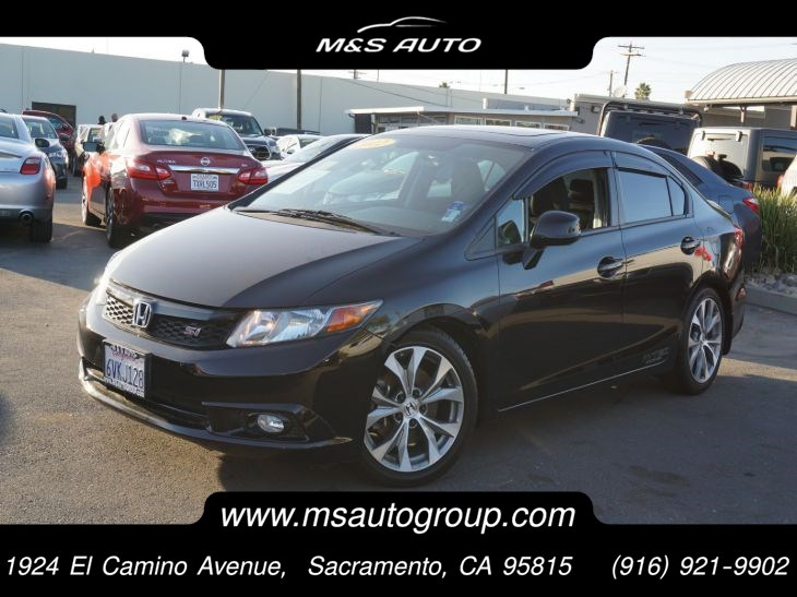 2012 Honda Civic Sedan Si