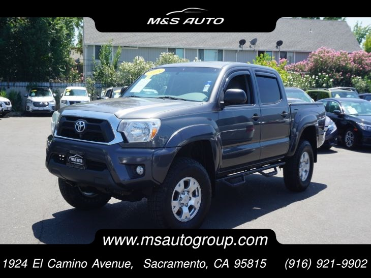 2015 Toyota Tacoma TRD Off-Road 4x4 Double Cab
