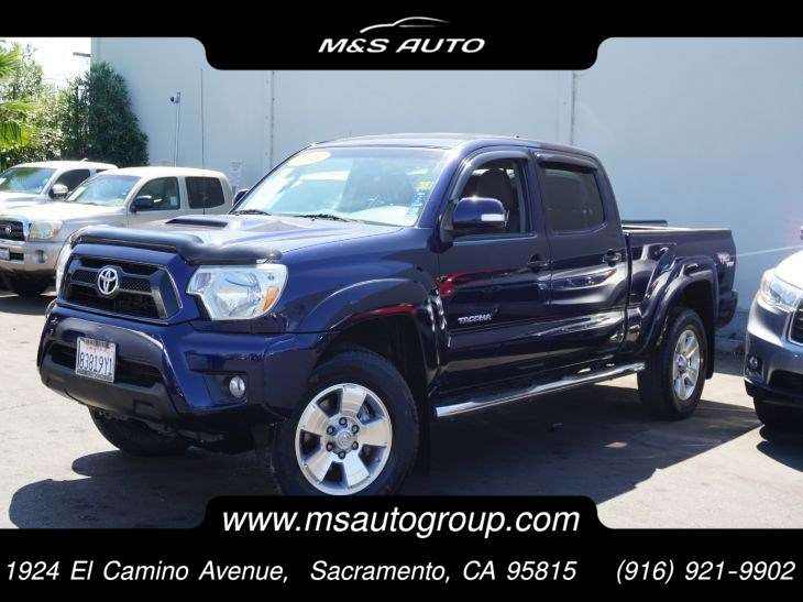 2013 Toyota Tacoma TRD Sport 4WD 4.0L V6 Double Cab Long Bed