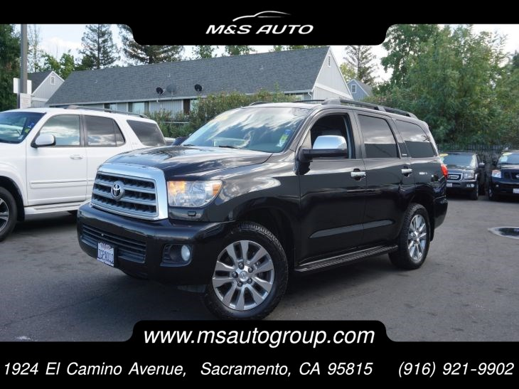 2008 Toyota Sequoia Limited 4WD 7 Passenger