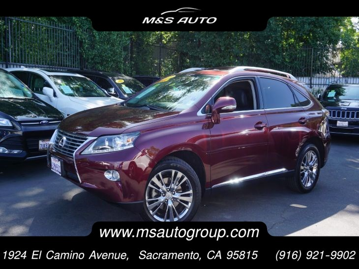 2013 Lexus RX 350 AWD  With Navigation and Premium Pkgs