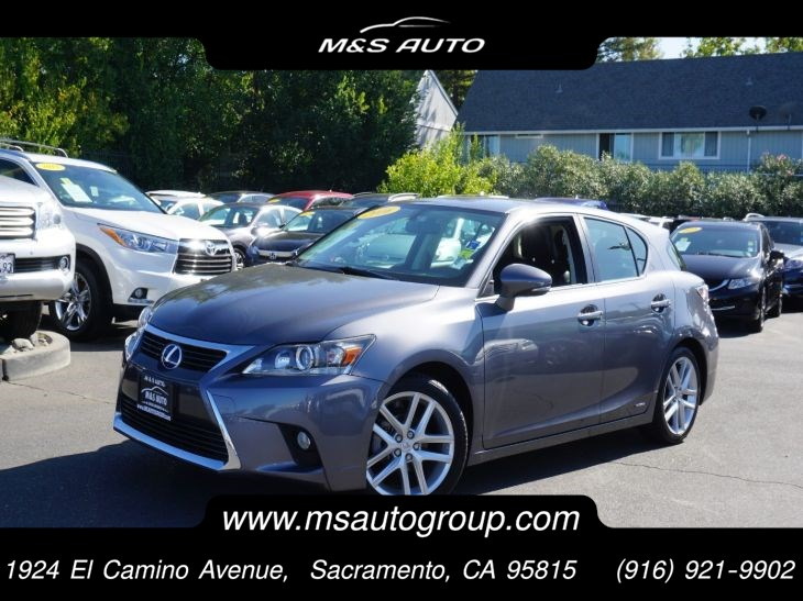 2016 Lexus CT 200h 5 Door Sport Sedan