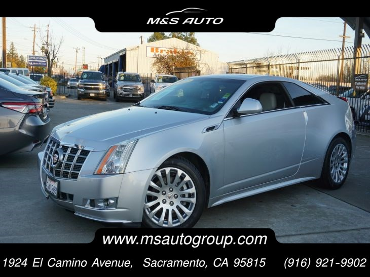 2012 Cadillac CTS Performance