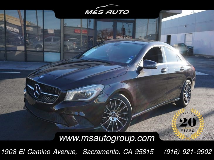 2014 Mercedes-Benz CLA Coupe