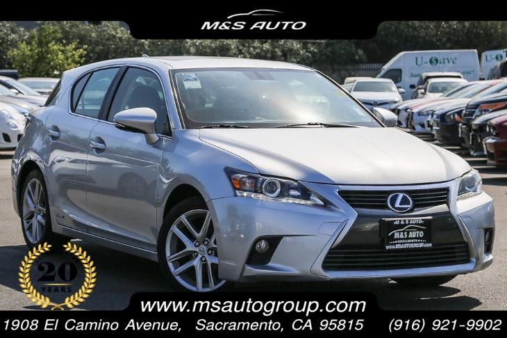 2015 Lexus CT 200H Hybrid Sport Sedan