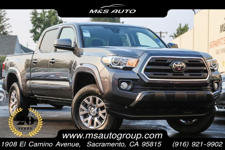 2018 Toyota Tacoma SR5 4X4 Double Cab Long Bed