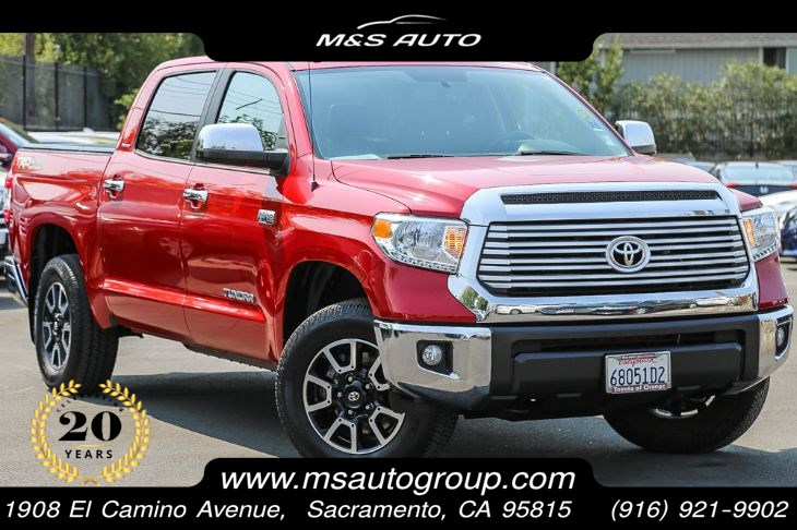 2017 Toyota Tundra 4WD Limited Crew Max With TRD Off Road Pkg
