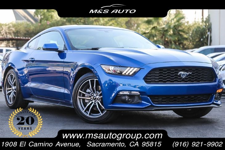2017 Ford Mustang EcoBoost Premium With Leather