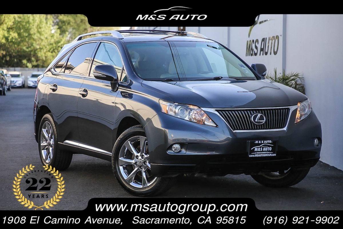 2010 Lexus RX 350 4x2 With Navigation and Premium Pkgs