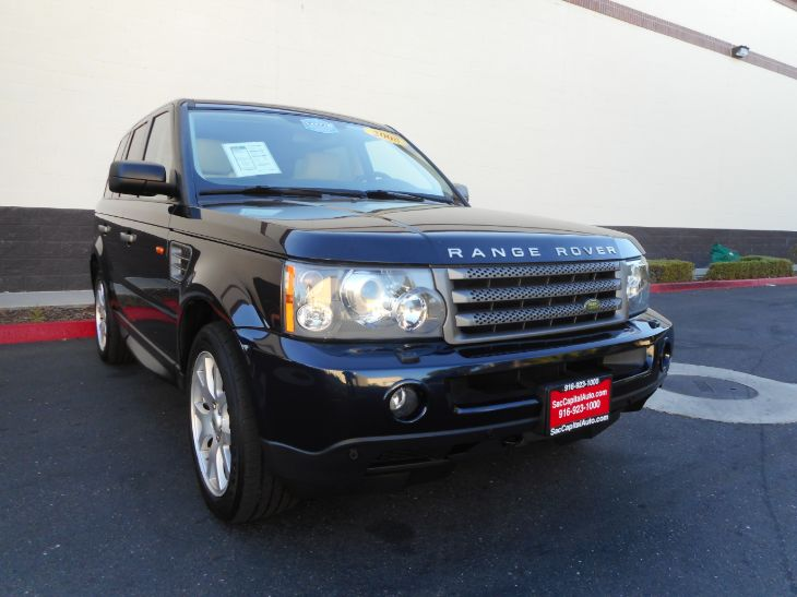 2008 Land Rover Range Rover Sport HSE Sport Utility 4D