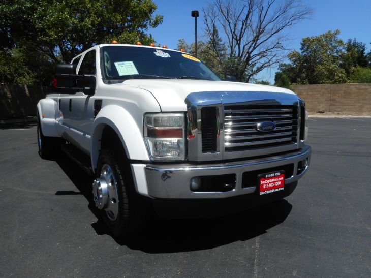 2008 Ford Super Duty F-450 DRW Lariat Pickup 4D 8 f