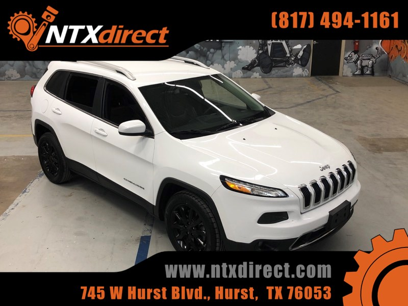 White Jeep Cherokee >> 2016 Jeep Cherokee Limited Ntx Direct