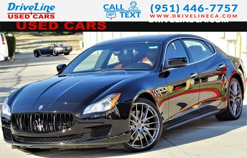 2015 Maserati Quattroporte >> 2015 Maserati Quattroporte Gts Lease Return One Owner Fully Loaded Driveline Used Cars