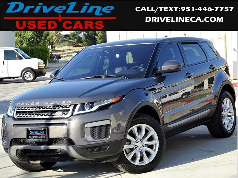 Range Rover Lease >> 2016 Land Rover Range Rover Evoque Se Lease Return Driveline Used Cars