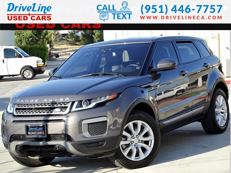 Land Rover Lease >> 2016 Land Rover Range Rover Evoque Se Lease Return Driveline Used Cars
