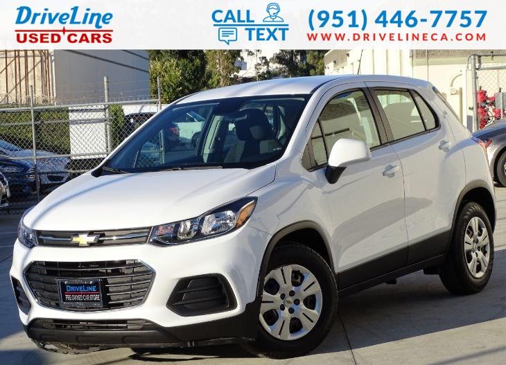 Used 2017 Chevrolet Trax Ls Rear View Camera Bluetooth In Murrieta
