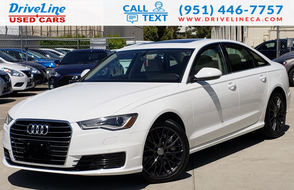 Audi A6 2.0 T >> 2016 Audi A6 2 0t Premium Navigation Heated Seats Driveline Used Cars