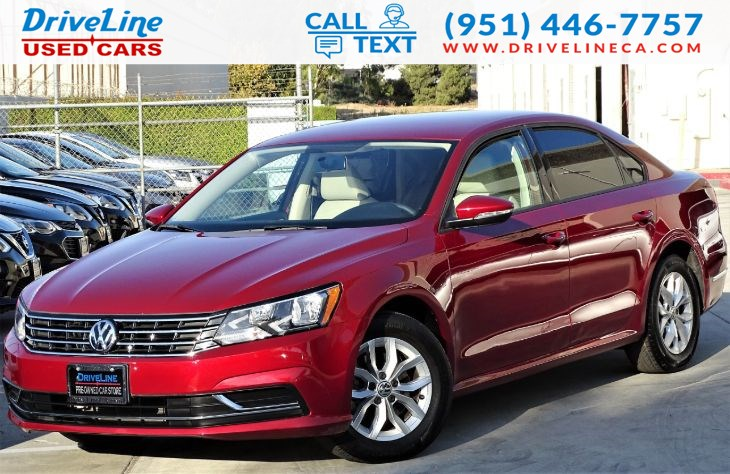 2018 Volkswagen Passat 2.0T S REAR VIEW CAMERA - BLUETOOTH