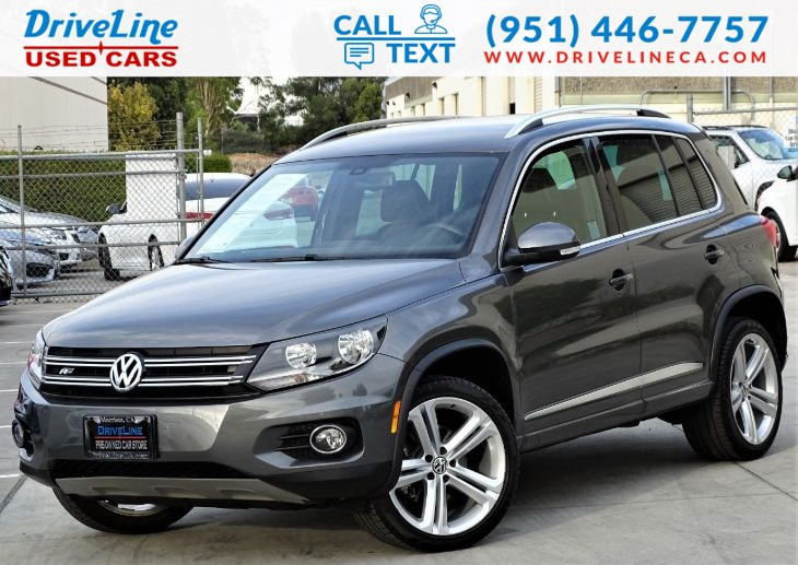 2016 Volkswagen Tiguan R-Line Heated Seats - Rear View Camera