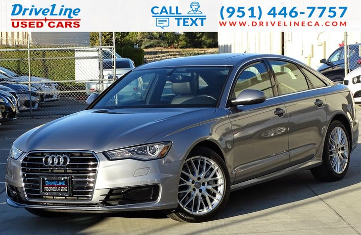 2016 Audi A6 2.0T Premium Navigation - Heated Seats
