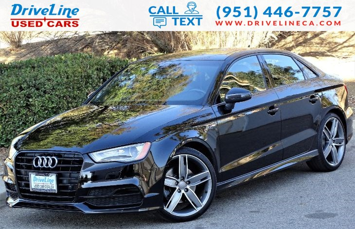 2016 Audi A3 1.8T Premium - S-LINE SPORTS PKG - HEATED SEATS