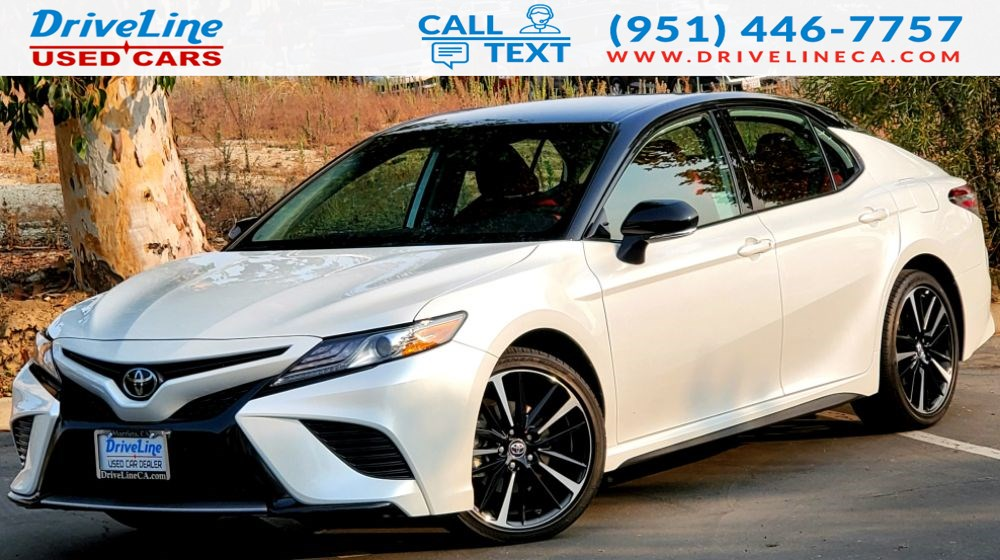 2019 Toyota Camry XSE - Red Leather Interior - Fully Loaded