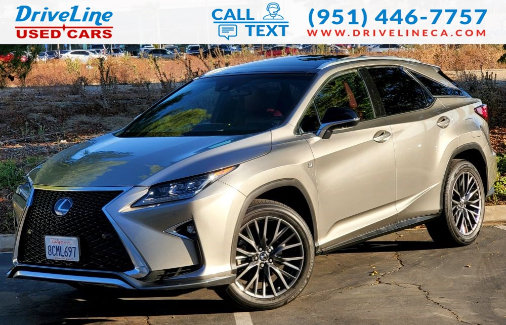 2018 Lexus RX RX 350 F Sport - Fully Loaded - AWD - $62,835 MSRP