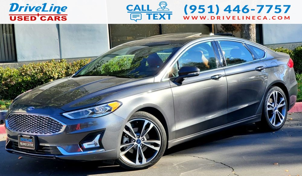 2020 Ford Fusion Titanium - Fully Loaded - $34,450 MSRP