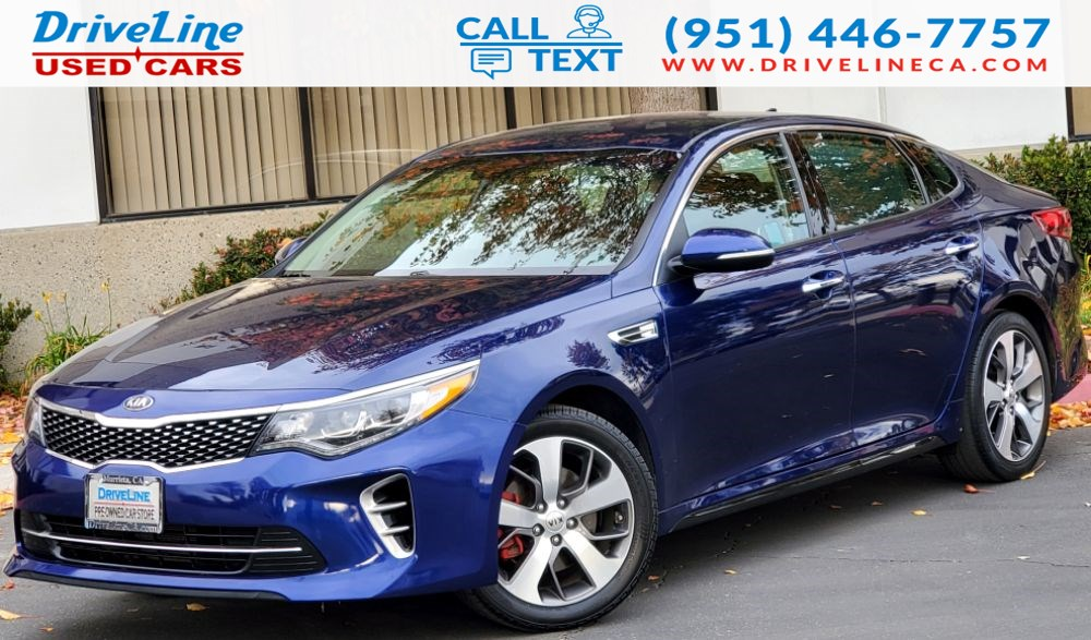 2017 Kia Optima SX - Premium Technology Package - $34,885 MSRP