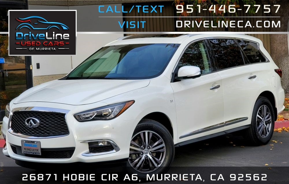 2017 INFINITI QX60 AWD - PREMIUM PLUS PACKAGE - $56,725 MSRP
