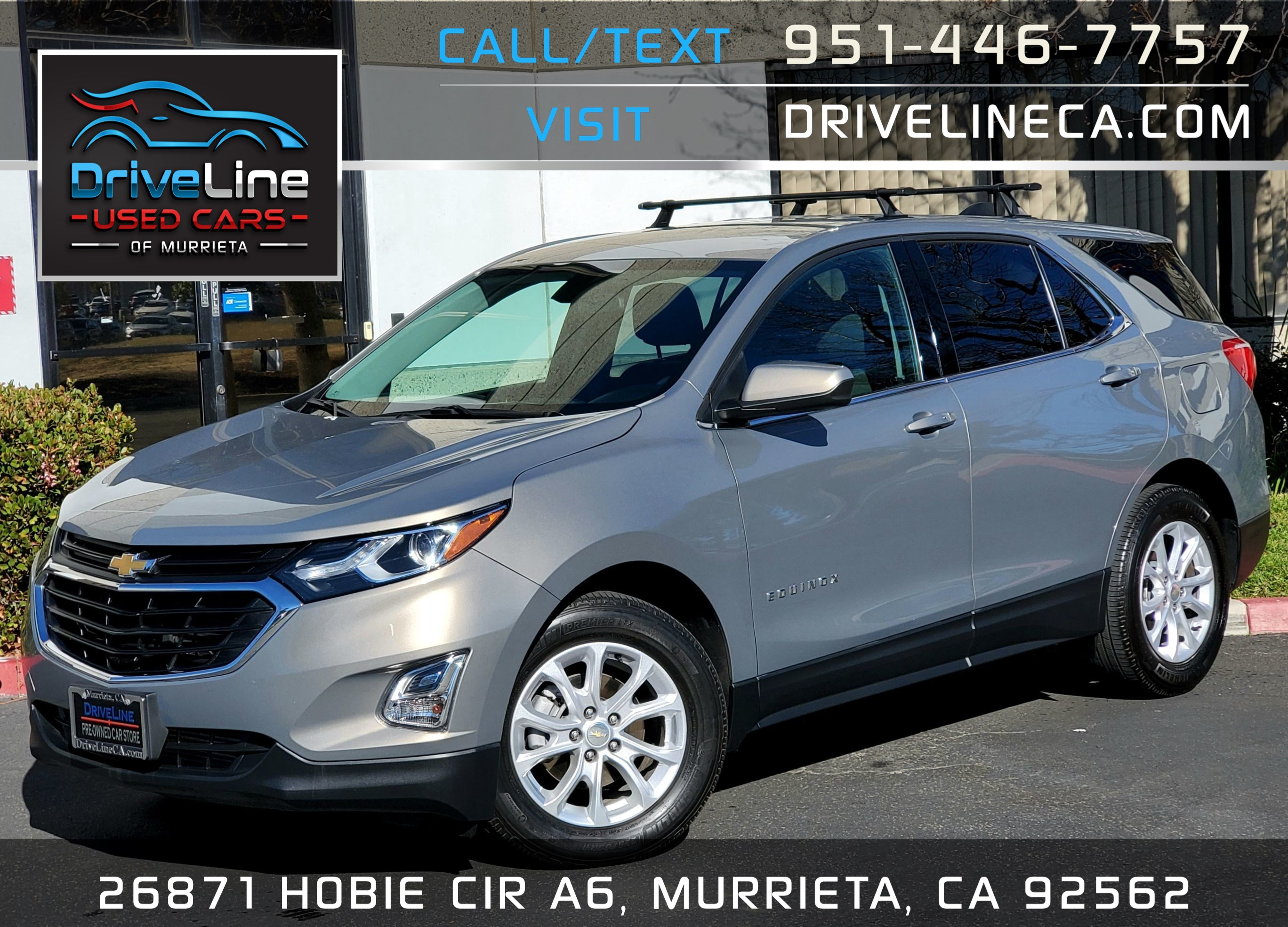2019 Chevrolet Equinox LT - Rear View Camera - $28,675 MSRP