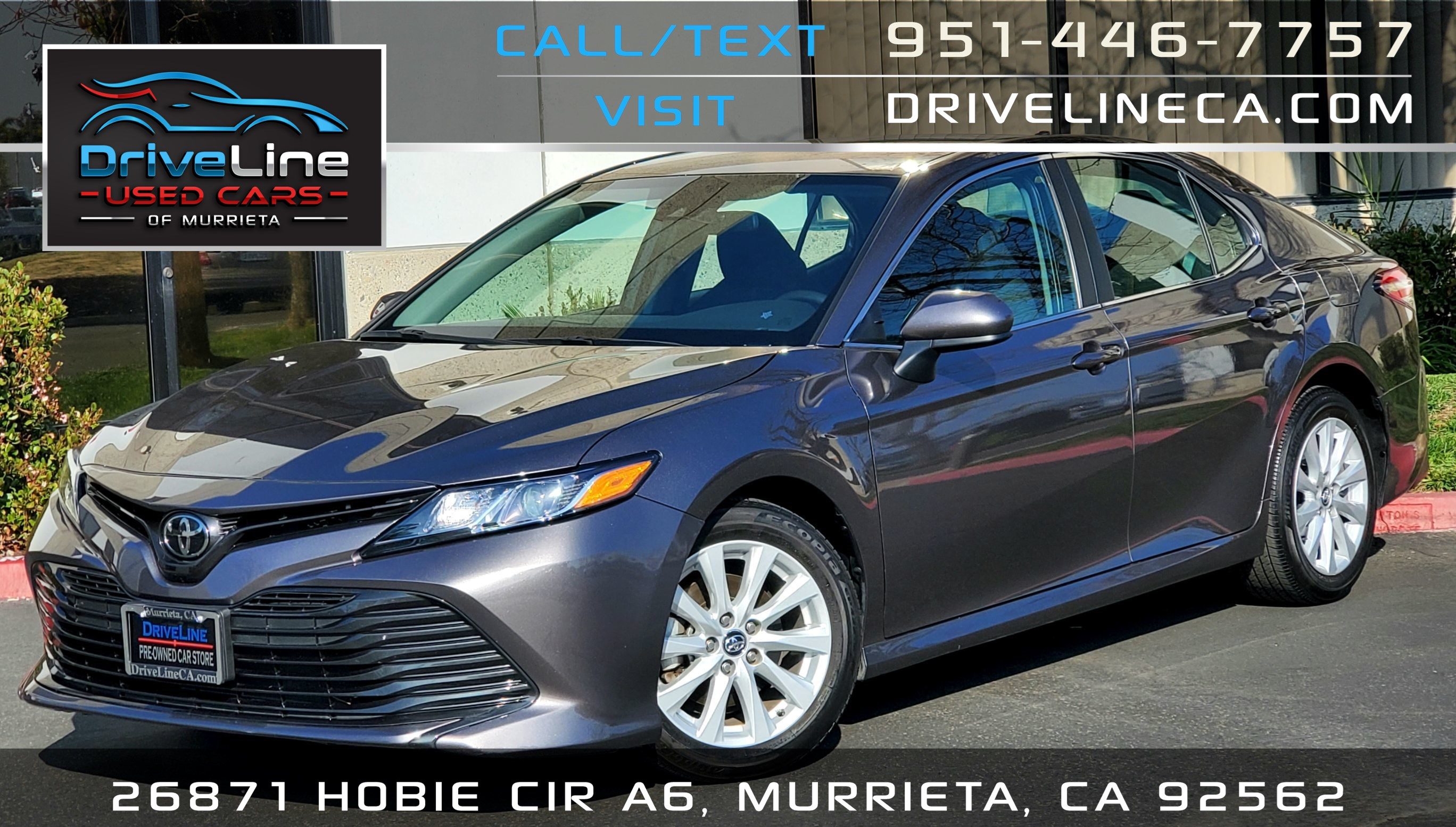 2020 Toyota Camry LE - Rear View Camera - Driver Assist