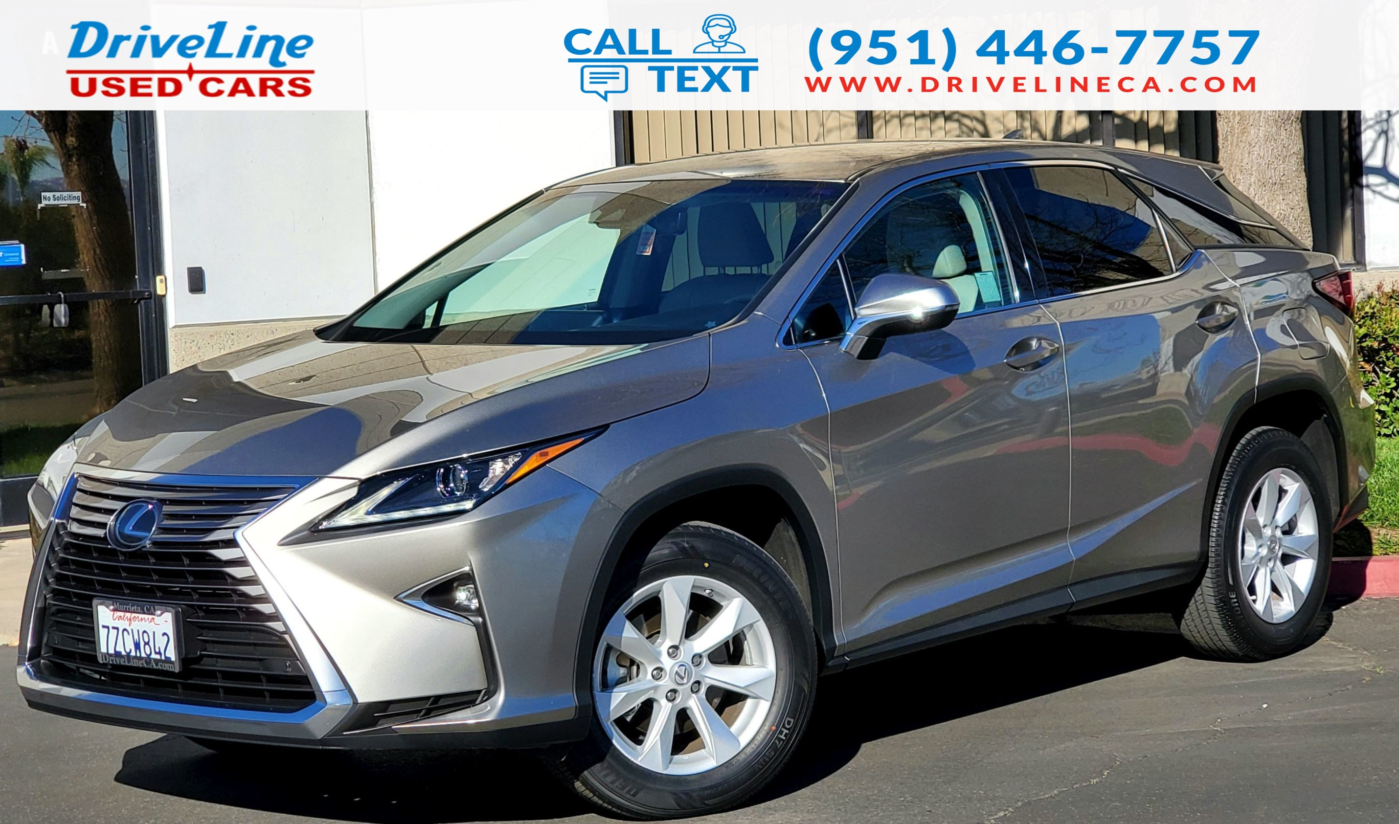 2017 Lexus RX RX 350 - Heated Seats - $43,660 MSRP
