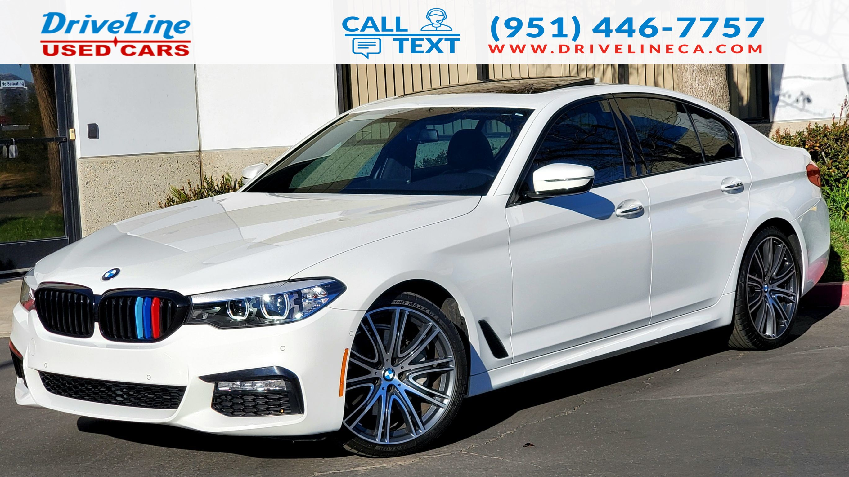 2018 BMW 5 Series 540i - M SPORT PACKAGE - $66,050 MSRP