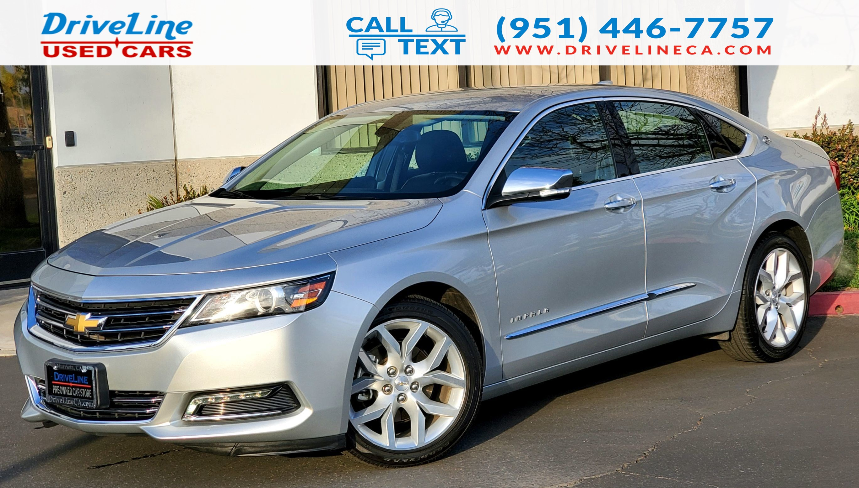 2019 Chevrolet Impala Premier - CONFIDENCE PACKAGE - $38,910 MSRP